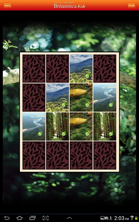 Britannica Kids: Rainforests- screenshot
