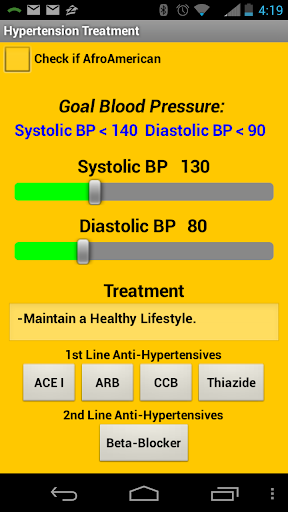 【免費醫療App】Hypertension Treatment JNC 8-APP點子