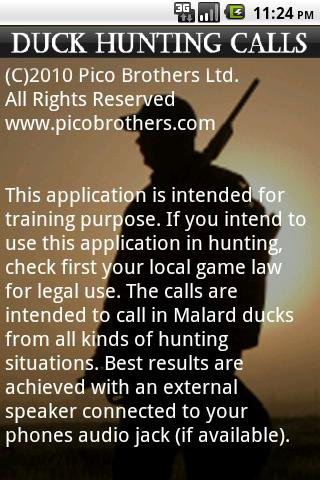 Duck Hunting Calls - screenshot