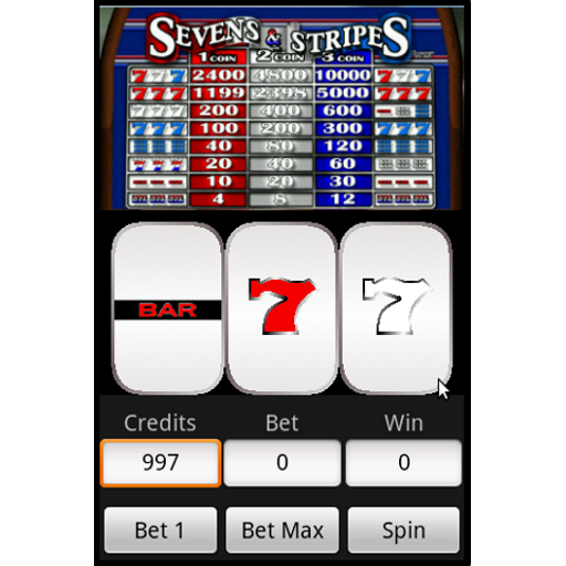 Slots  Sevens and Stripes