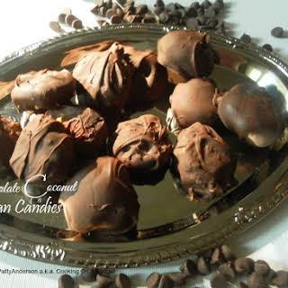 Chocolate Coconut Pecan Candies.