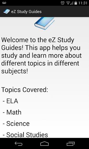 eZ Study Guides
