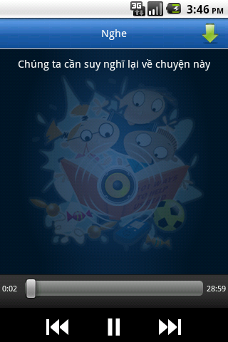 Đọc truyện đêm khuya - screenshot