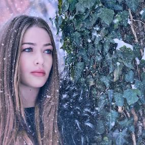 Winter Tale by Bogdan Negoita - People Portraits of Women ( girl, winter, portrait,  )