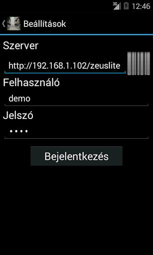 ZeusLite Demo