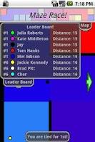 Screenshot of Maze Race