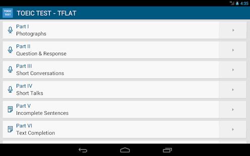TOEIC準備課程 - 英語學習 - TFLAT