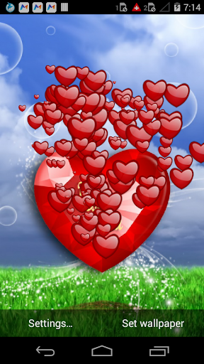 I LOVE YOU TOUCH WALLPAPER