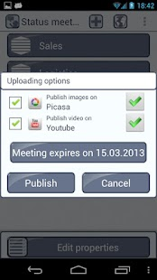 Meeting Tracker- screenshot thumbnail