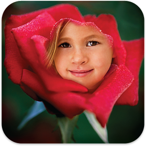 Photos In Flowers Icon