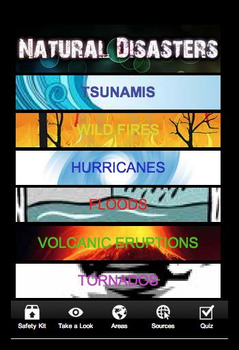 【免費教育App】Nature's Fury-APP點子