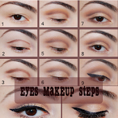 Eyes Makeup - Steps