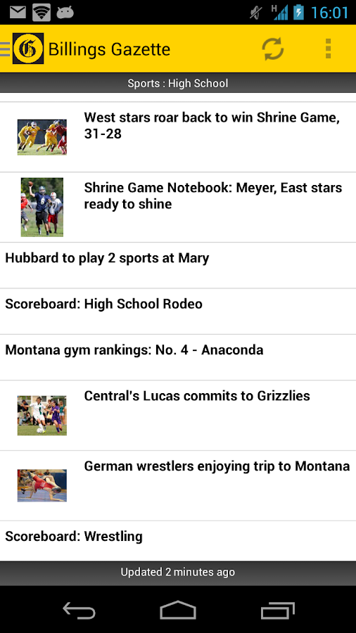 Billings Gazette - screenshot