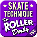 Skate Technique Roller Derby 2 icon