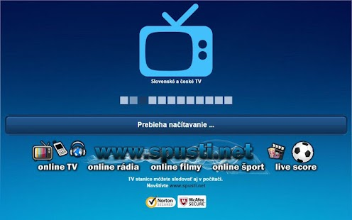 Slovenské a české TV