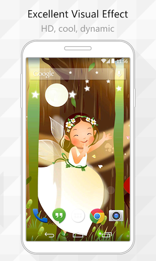 Little Fairy Live Wallpaper