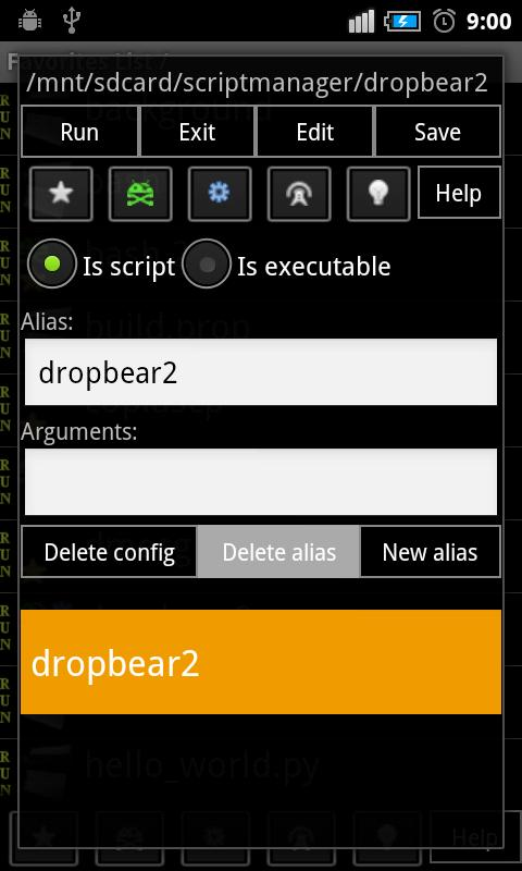 Script Manager-SManager(NoAds)- screenshot