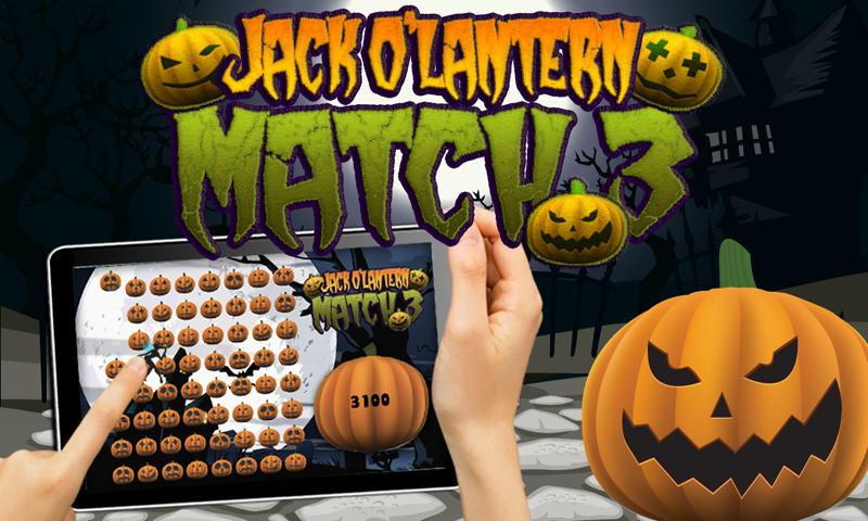 Halloween Pumpkin Match 3 Game- screenshot
