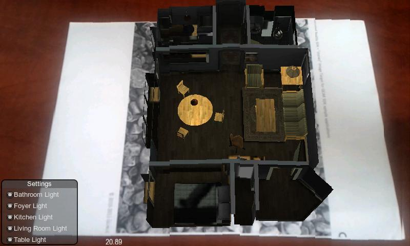 House Model AR - screenshot