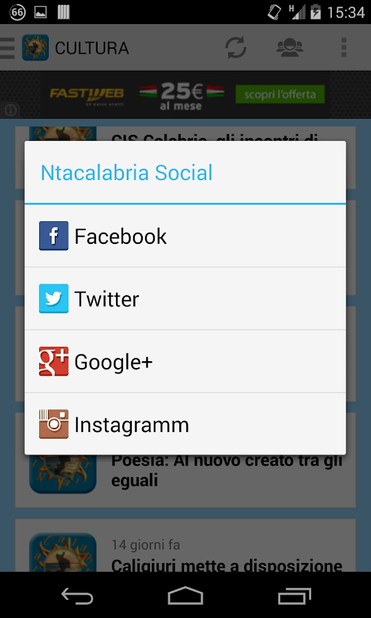 NtacalabriaApp - screenshot