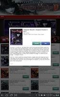 Screenshot of Vampire Hunter D Store