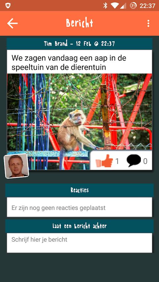 Klasbord - screenshot