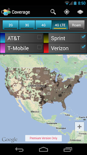CellMaps Mobile Coverage- screenshot thumbnail