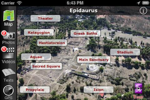 EasyGuideApp Epidaurus- screenshot