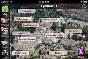 EasyGuideApp Epidaurus screenshot for Android