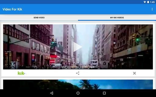 Video For Kik  screenshots 8