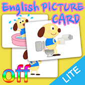 English picture card 「OFF」
