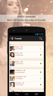 KWICK! - Meet new people - screenshot thumbnail