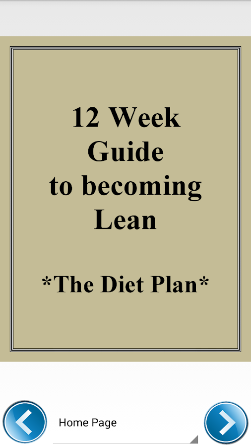 Lean Bodybuilding Diet Plan - Android Apps on Google Play