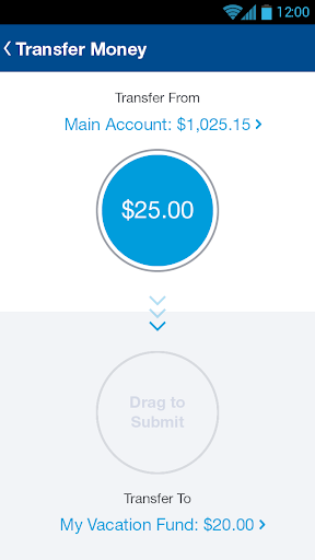 Bluebird by American Express screenshot
