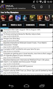 myLoL League of Legends LoL