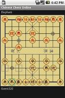 Screenshot of Chinese Chess Online