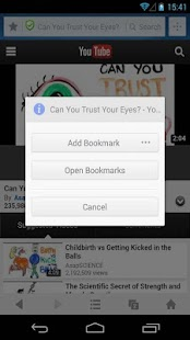 Private Bookmarks - UC Browser - screenshot thumbnail