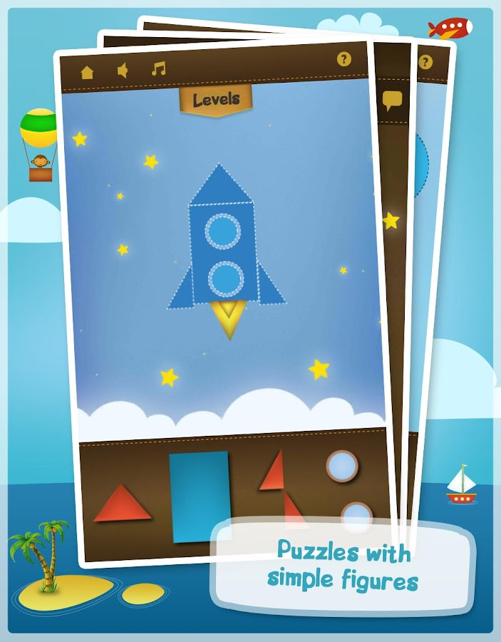World of puzzles -Kids puzzles- screenshot