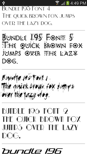 Fonts for Samsung 1000+ 2.0.1 screenshots 3