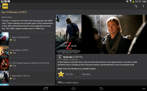 IMDb Movies & TV- screenshot thumbnail