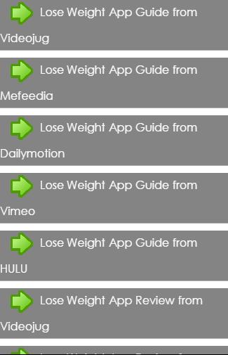 WeightLoss InnovationsApp Tips