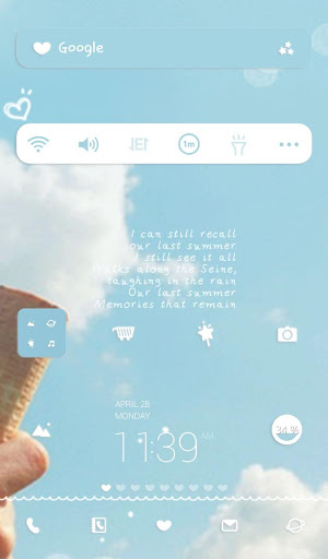 dear my cloud dodol theme