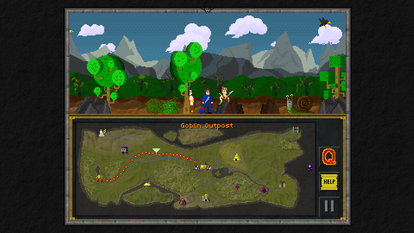 Pixel Heroes: Byte & Magic screenshot #4