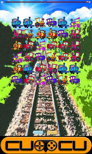 Steam Train Cartoon