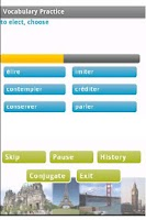 Screenshot of French Language Trainer Basic