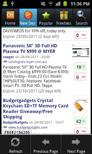 OzBargain Plus - screenshot thumbnail