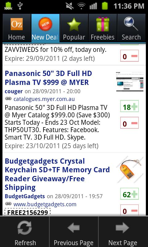OzBargain Plus- screenshot