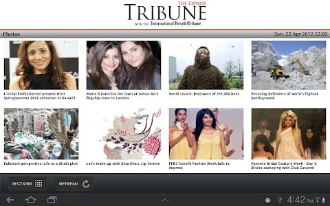 The Express Tribune News screenshot 4