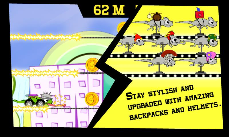 Izzy Roll - Free Runner Game - screenshot