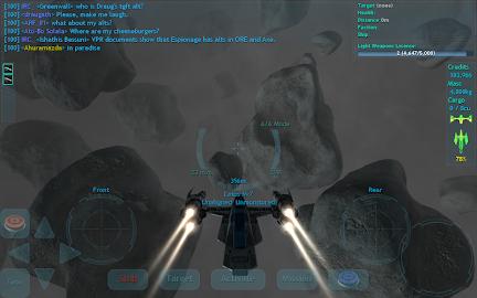 Vendetta Online (3D Space MMO) Screenshot 5